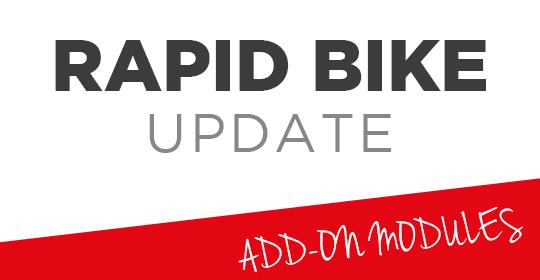 Rapid Bike UPDATE