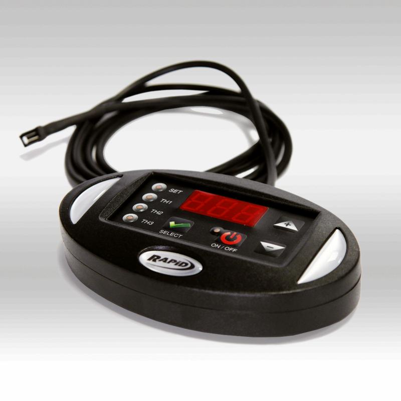 consola de calibración